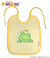Bryndáček Žabka Baby Nellys ® - žlutý