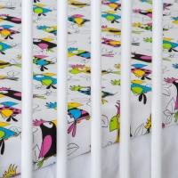 Bavlněné prostěradlo - Papoušci