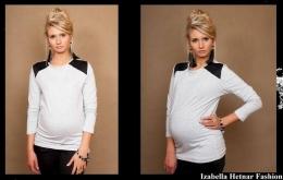 Těhotenské triko/halenka Flora