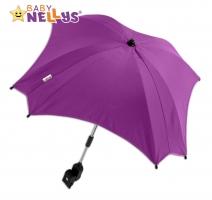 Slunečník, deštník  do kočárku Baby Nellys ® - amarant
