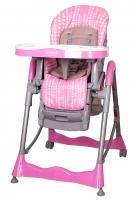 Jídelní židlička COTO BABY Mambo Pink