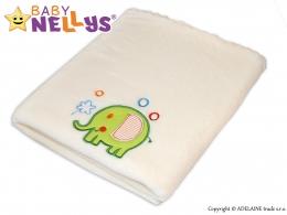 Dečka Colar Baby Nellys ® SLON - smetanová