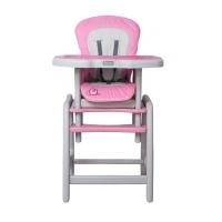 Jídelní stoleček Coto Baby STARS Šnek  - růžový