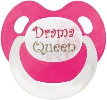 Silikonový ortodontický dudlík BIBI - Drama Queen