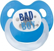 Silikonový ortodontický dudlík BIBI - Bad Boy