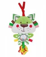 Plyšová edukační hračka na zavazování Forest Friends - liška