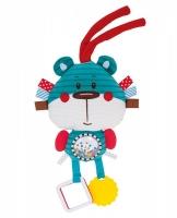 Plyšová edukační hračka na zavazování Forest Friends - medvídek