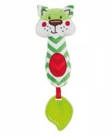 Plyšová hračka s kousátkem a pískátkem Forest Friends - liška