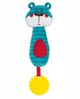 Plyšová hračka s kousátkem a pískátkem Forest Friends - medvídek