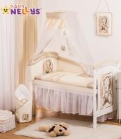 Šifónová nebesa Sweet Dreams by TEDDY - piskové/bílé