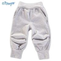 Tepláčky, kalhoty NICOL ZEBRA - šedé