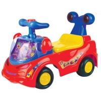Odstrkovadlo,odrážedlo, jezdítko - FUNNY CAR - červené