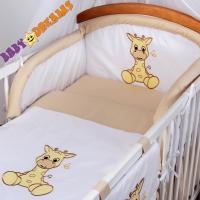 Mantinel Baby Dreams SAFARI - Žirafa - béžová