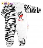 Bavlněný overálek ZEBRA Baby Nellys ®