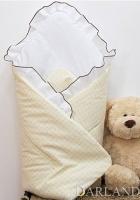Krásná zavinovačka s volánkem - Medvídek se srdíčkem kostička kr