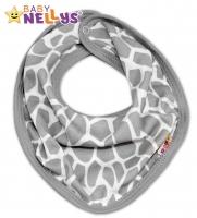 Bavlněný šátek na krk ŽIRAFA Baby Nellys ®