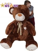XXL MAXI Plyšový Medvěd - tmavě hnědý - 190 cm