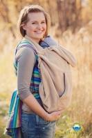 Little FROG Baby vak - fleece - béžový