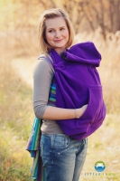 Little FROG Baby vak - fleece - fialový