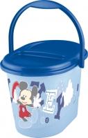 Kbelík na plenky Mickey Mouse - modrý