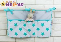 Praktický kapsář na postýlku Baby Nellys ® - č. 03