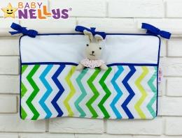 Praktický kapsář na postýlku Baby Nellys ® - č. 09