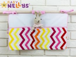 Praktický kapsář na postýlku Baby Nellys ® - č. 10