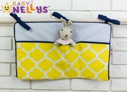 Praktický kapsář na postýlku Baby Nellys ® - č. 13