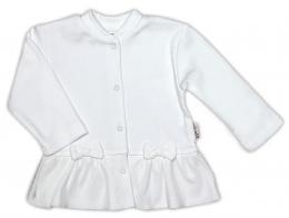 Košilka NICOL PŘÁTELÉ s mašličkou - BIO bavlna - smetanová