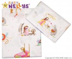Bavlněné povlečení 135x100  Baby Nellys ®- Princezna