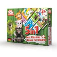 Hra 5v1 Talking Tom a přátelé