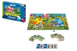 Šmoulové Gargamel společenská hra v krabici 34x23x3,5cm