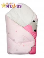 Novorozenecká zavinovačka - Ovečka Hvězdička - růžová