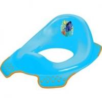 Adaptér - treningové sedátko na toaletu Hledá se Dory - modrý