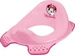 Adaptér - treningové sedátko na toaletu Minnie - růžový