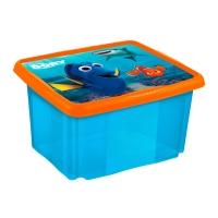 Box na hračky Hledá se Dory 45 l - modrý