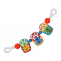 Řetěz do kočárku Baby Mix - Medvídek v balóně
