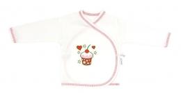 Novorozenecká košilka Mamatti - Dort třešnička