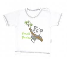 Tričko/košilka krátký rukáv Mamatti - Panda
