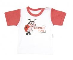 Tričko/košilka krátký rukáv Mamatti - Brouček v létě