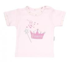 Tričko/košilka krátký rukáv Mamatti - Princezna
