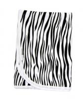 Deka/dečka bavlněná Mamatti - Zebra v ZOO