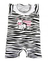 Body s nohavičkami Mamatti - Zebra v ZOO