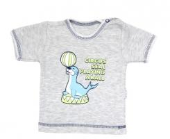 Tričko/košilka krátký rukáv Mamatti - Tuleň