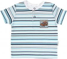 Polo tričko krátký rukáv Mamatti - Tuleň proužek