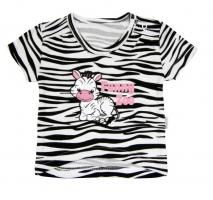 Tričko krátký rukáv Mamatti - Zebra v ZOO