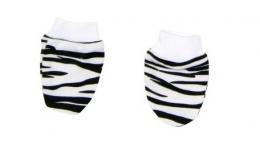 Kojenecké rukavičky Mamatti - Zebra v ZOO