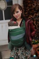 Little FROG Tkaný šátek na nošení dětí -  ADAMITE