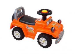 Dětské jezdítko Baby Mix se zvukem  - oranž