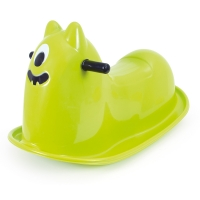 Plastová houpací příšerka - zelená